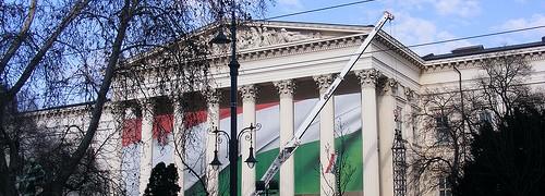 A Nemzeti Múzeum nyitvatartása szerint hétfőn zárt kapuk fogadnak