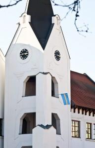 Székelyzászló-ügy - Székely zászló a dunaszerdahelyi vár