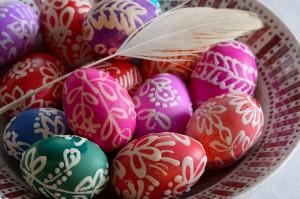 Hímes tojás festõk Rimócon