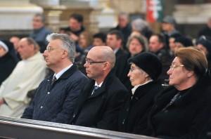 de Castello, Alberto Bottari; Mádl Ferenc; Mádl Dalma; FERENC pápa; Erdõ Péter; Semjén Zsolt; Péterfalvi Attila