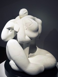 Szmrecsányi Boldizsár szobrászmûvész kiállítása Bécsben