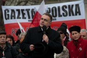 Március 15. - Lengyel szimpatizánsok Budapesten