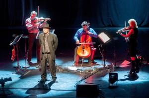 A Balanescu Quartet koncertje Budapesten