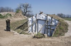 Föld napja - Veremházakat építettek a Magyarkertben