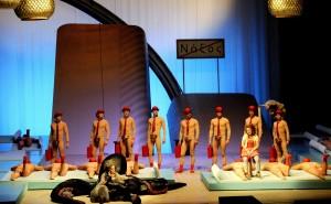 Az Ariadné Naxoszban bemutatója az Operában