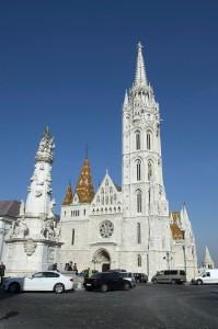 A felújított Mátyás-templom