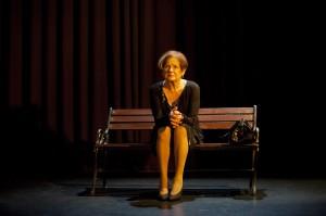 A Rose címû monodráma bemutatója a Spinoza Színházban