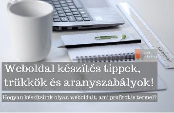 Gondosan felépített weboldal készítés Győrben
