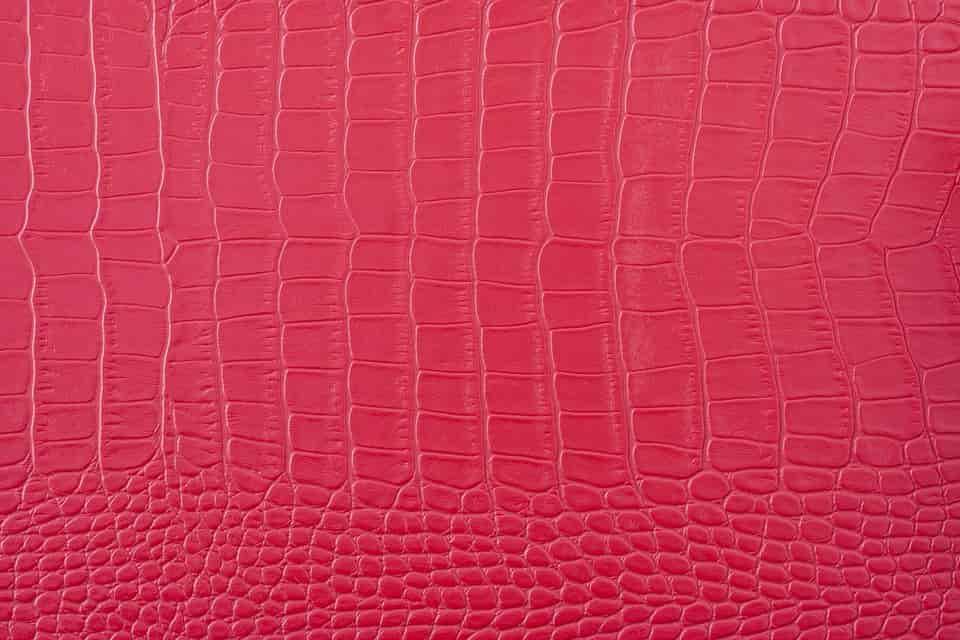 Bájos piros bőr pénztárca