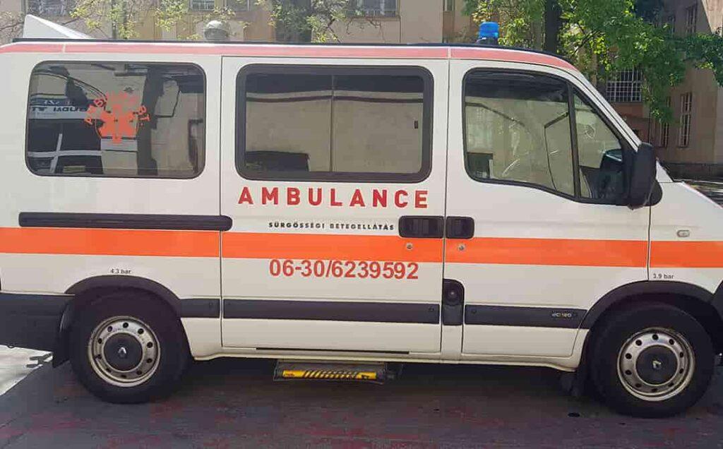 magán mentőszolgálatok