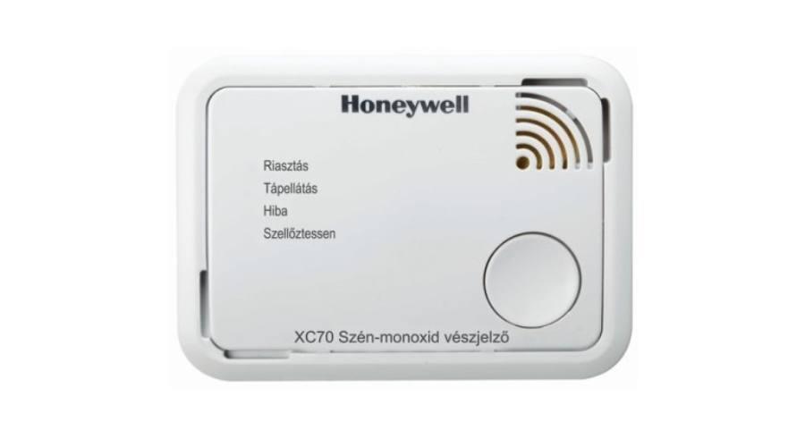 Életet menthet a Honeywell szénmonoxid érzékelő